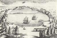Гравюра Петропавловска, XVIII век