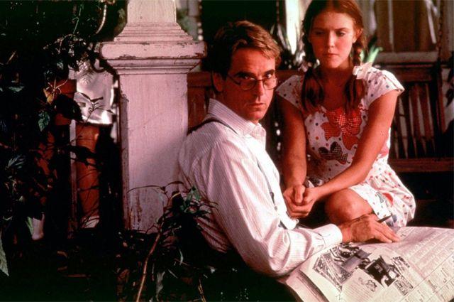 Кадр из фильма «Лолита» по одноимённому роману.