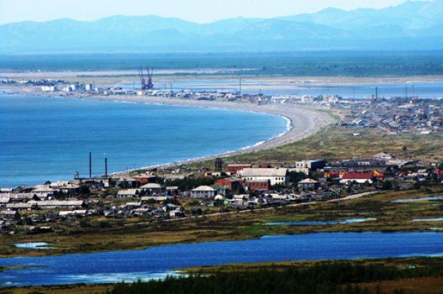 Посёлок Охотск мог замёрзнуть прошлой зимой