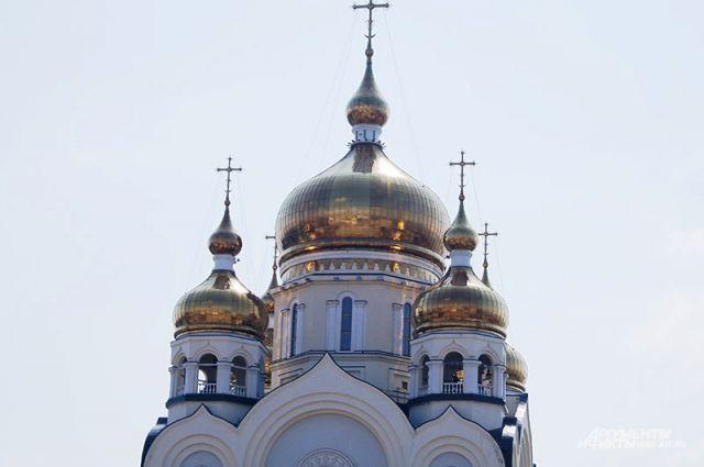 Этот собор чаще других попадает в объективы хабаровчан и гостей города