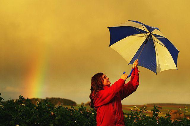 Екатеринбуржцы проведут день города под зонтиками
