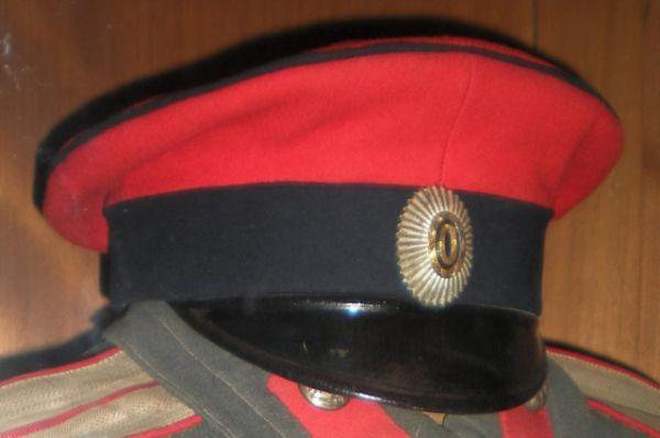 Фуражка офицера Лейб-гвардии Казачьего Его Величества полка.