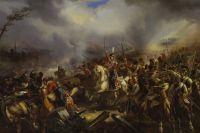 Атака Лейб-гвардии Казачьего полка под Лейпцигом 4 (17) октября 1813 г. Фотокопия.