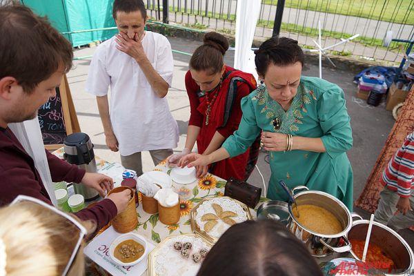 Мастер-классы по приготовлению индийских блюд.
