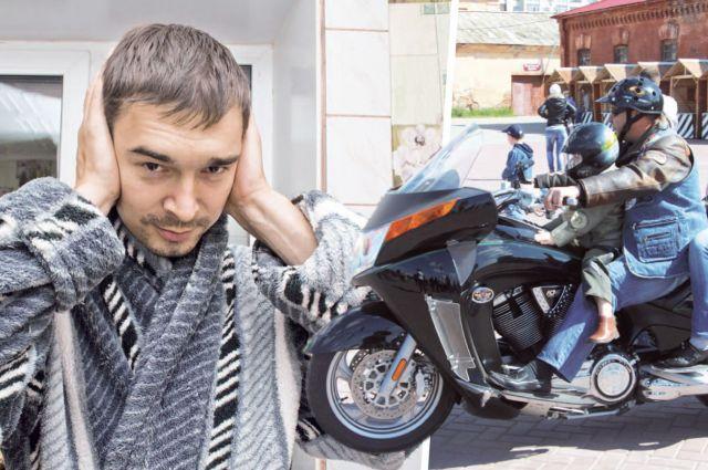 Мотоциклисты всё чаще доставляют неприятностей горожанам.