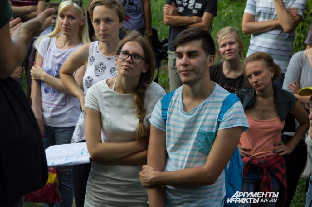 Чтобы увидеть лэнд-арт в Дивногорье из Воронежа приехали десятки туристов.