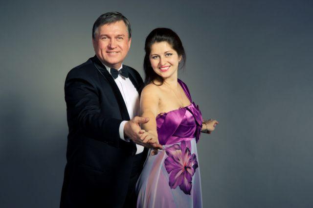 Татьяна Семерьянова и Павел Комаров.