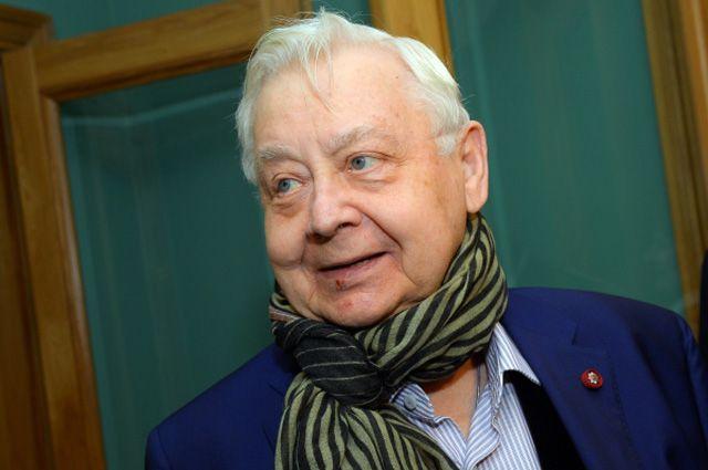 Олег Табаков, 2015 год.