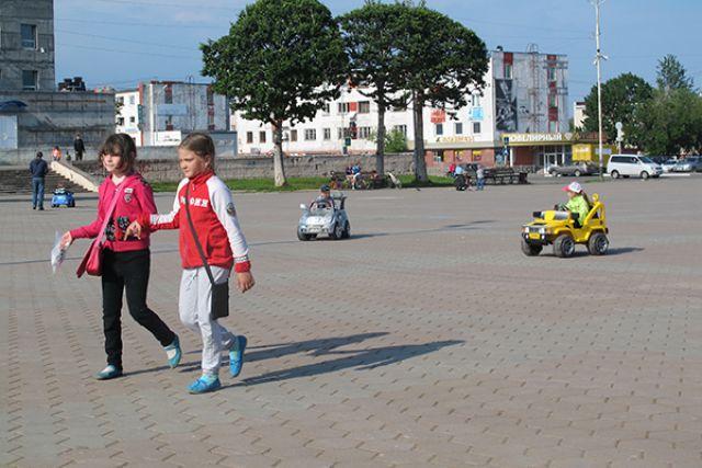 С каждым годом Вилючинск становится уютнее.