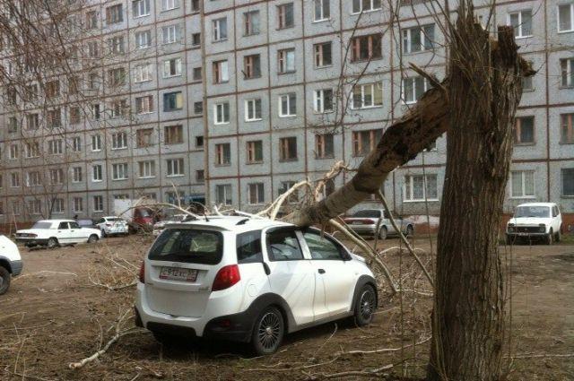 Во время прошлогоднего разгула стихии пострадали и люди, и техника.
