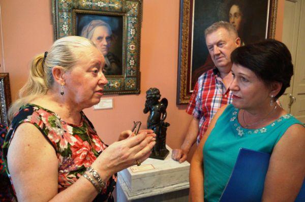 Коллегам - музейщикам из Хабаровска и Владивостока всегда есть что обсудить