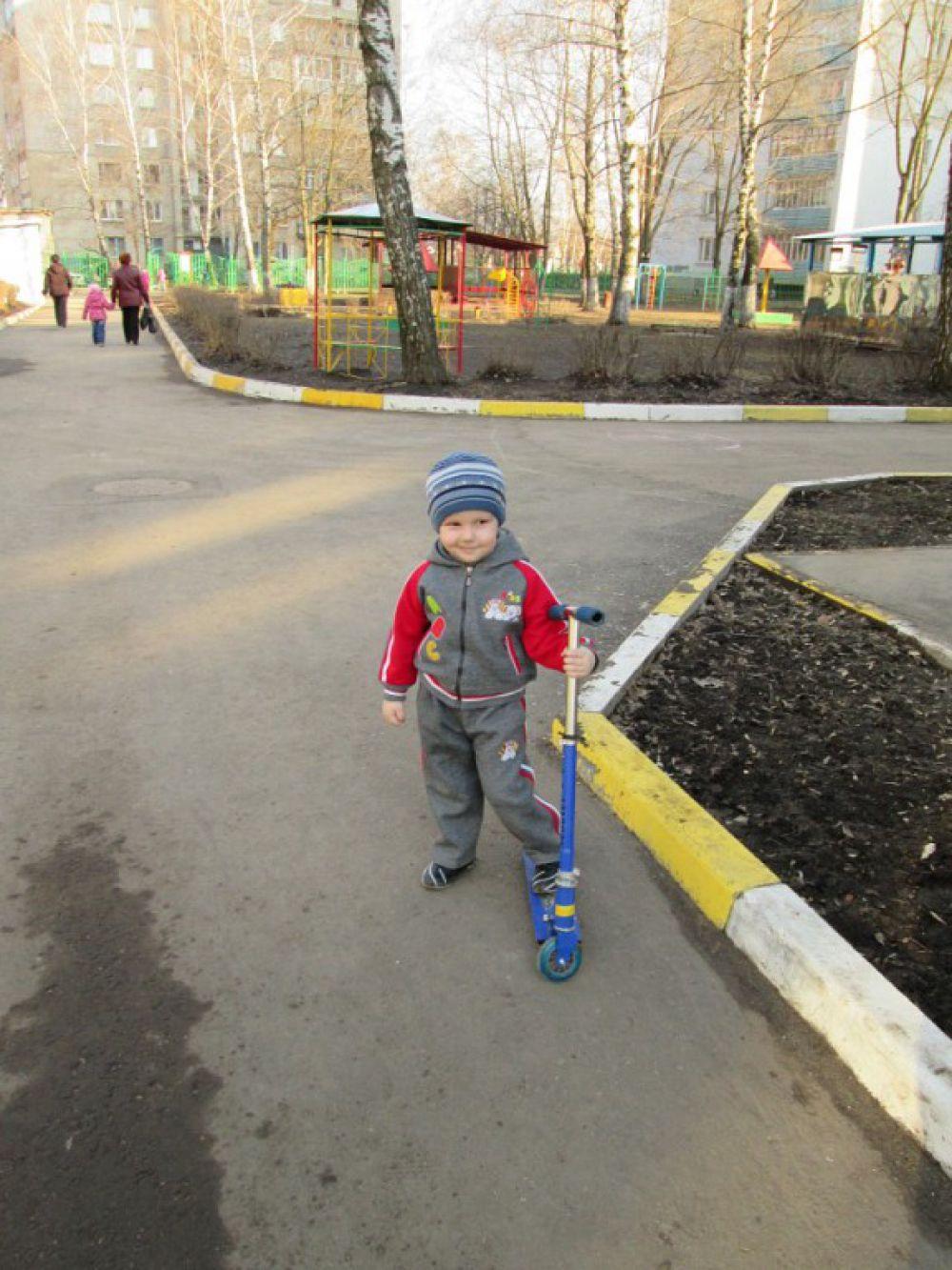Лев Кошечкин, 4 года.