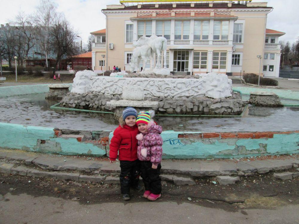 На фото Лев Кошечкин, 4 года.
