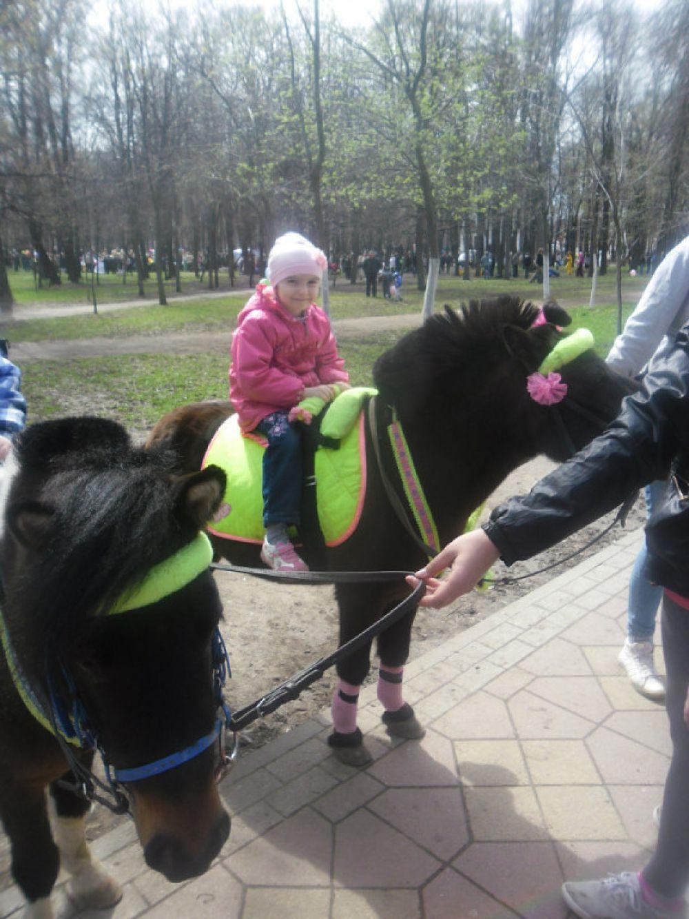 Валерия Чижова, семь лет.