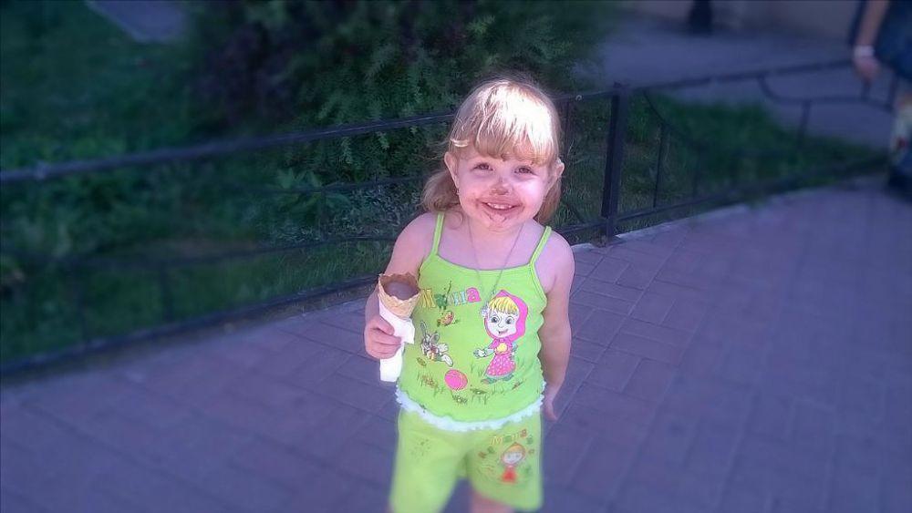 Галина Зимина, 4 года. Фото ее папы - Максима Зимина.