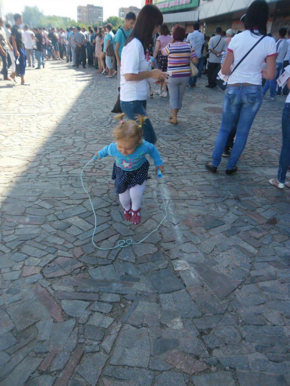 Дочка Максима Зимина - четырехлетняя Галина.