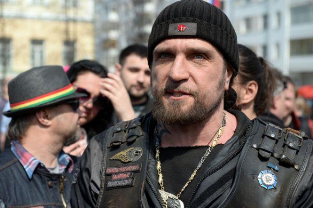 Александр Залдостанов, президент Всероссийского мотоклуба «Ночные волки».