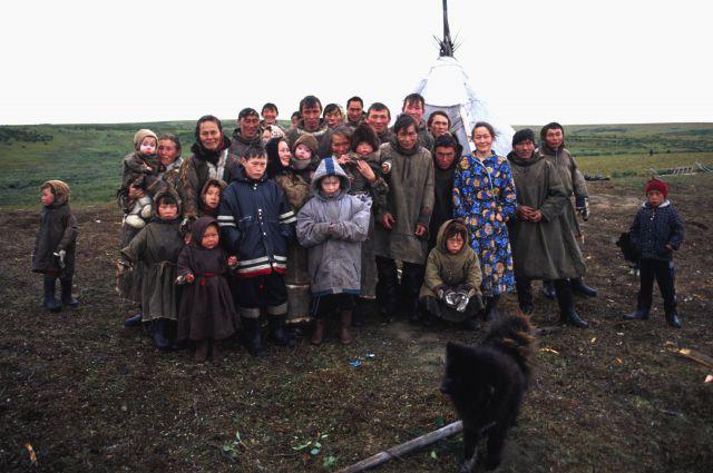Жители Эвенкии (архивное фото).