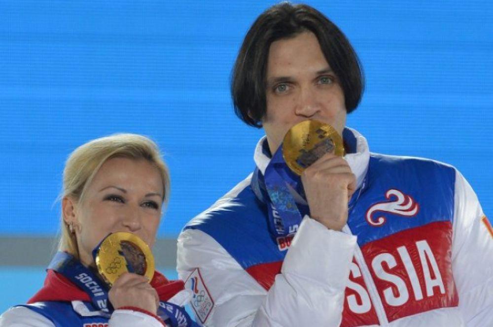 В 2014 году на Зимних Олимпийских играх в Сочи Волосожар и Траньков стали чемпионами в командных соревнованиях, а также олимпийскими чемпионами в парном катании, по сумме баллов побив свой же мировой рекорд на 0,19 балла.
