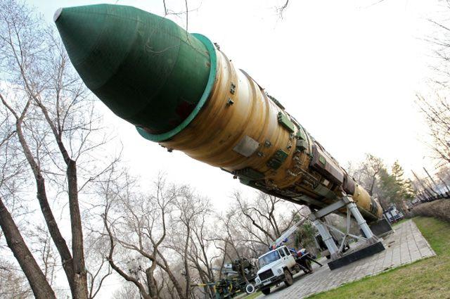 Межконтинентальная баллистическая ракета РС-20