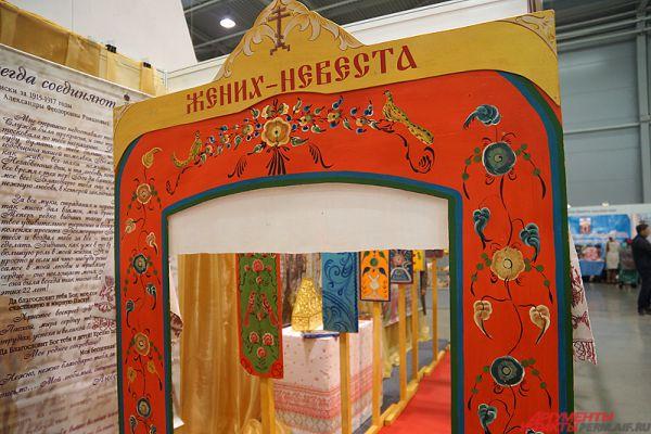 Неотъемлемой частью выставки «Православная Русь» является большая музейная культурно-историческая экспозиция.