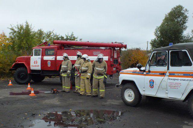 Пожарные предотвратили взрыв.