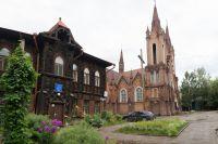 Здания, принадлежавшие католической общине Красноярска.