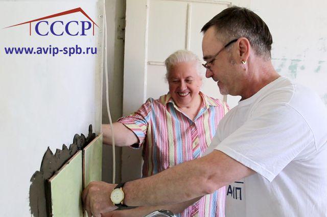 На фото Нина Виноградова и Юрий Гречишкин.