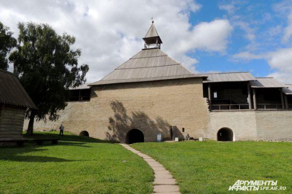 Клад был найден в Староладожской крепости.