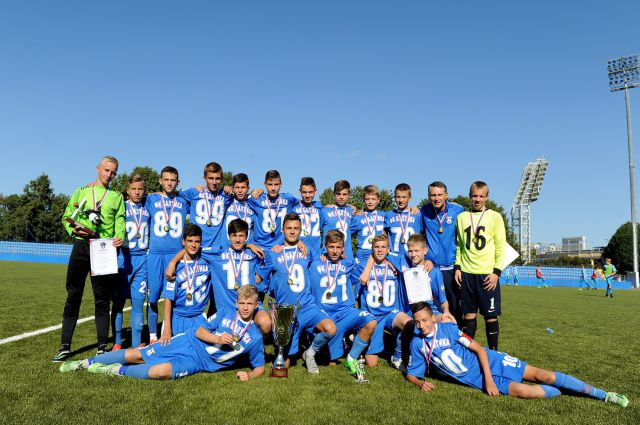 15-летние футболисты «Балтики» - лучшие на Северо-Западе.
