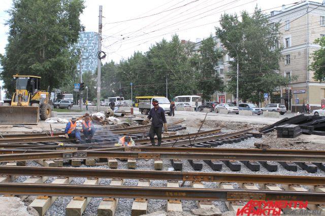 В Новосибирске до «Чистой слободы» будут ходить трамваи
