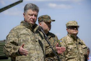 Порошенко заявил об отсутствии братских народов в условиях войны