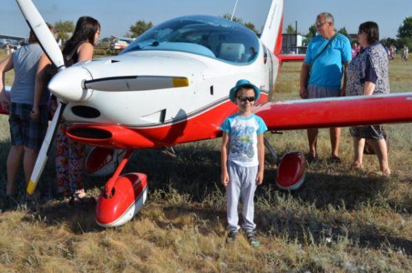Иногда дорога в профессию лётчика начинается с мечты и авиашоу.