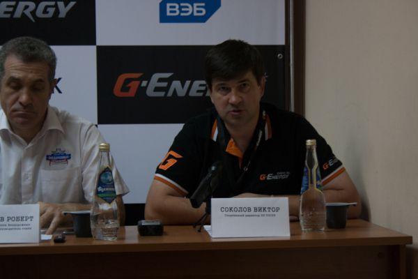 Спортивный директор РОСРР Виктор  Соколов делится впечатлениями о трассе