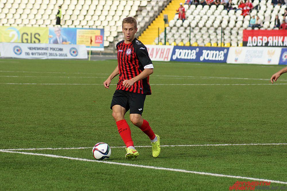 Януш Гол забил единственный гол пермского клуба.