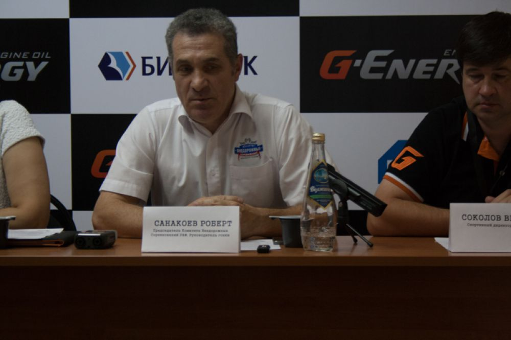 Роберт Санакоев гарантирует безопасность спортсменов на трассе