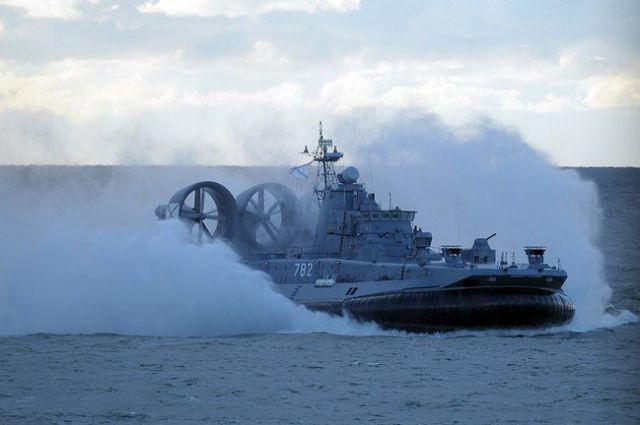 Десантный корабль проекта 12322 «Зубр».