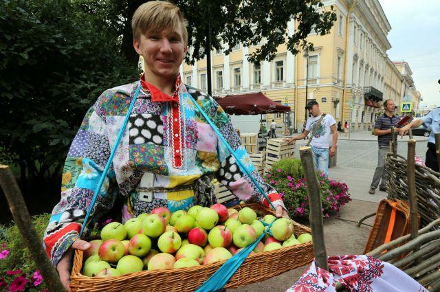 Праздник Яблочный спас.