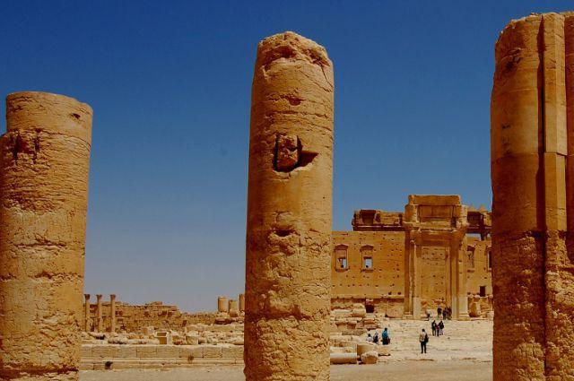 Храм Баала в Пальмире, Сирия.