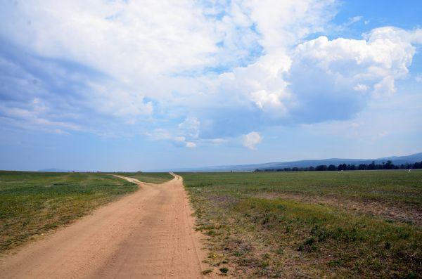 Дорога к деревне Харанцы.