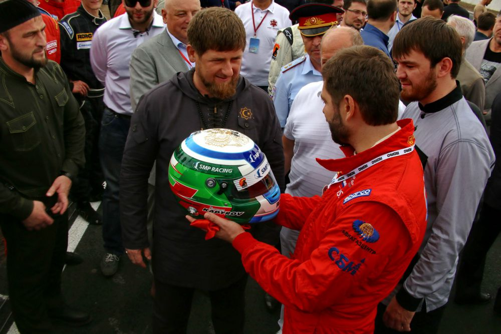 На открытии присутствовал глава Чеченской Республики Рамзан Кадыров.