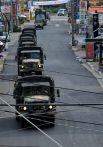 Автомобили южнокорейских войск.