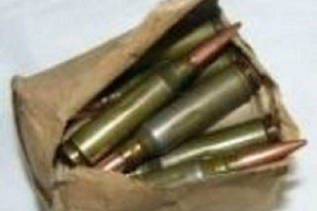 В одном из заброшенных домов поселка Кольцово найдены патроны