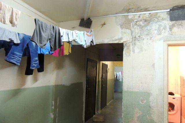 Общежитие на улице Норильской.