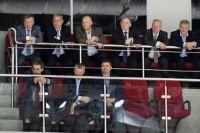 VIP-чиновники Челябинска на хоккее.