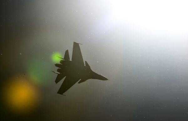 Самолет СУ-30 СМ.