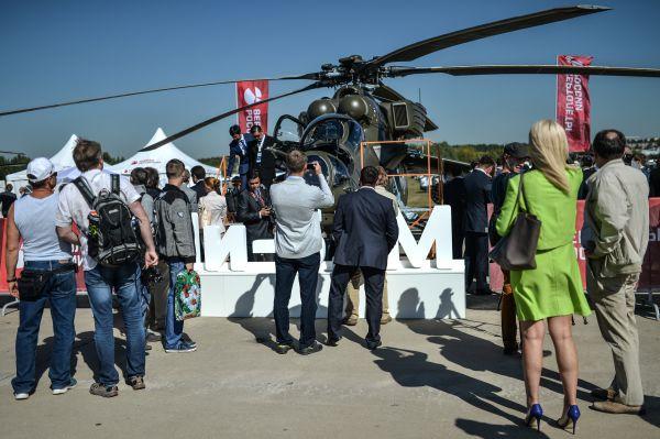 Вертолет Ми-35 М.