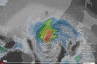 Тайфун надвигается на Приморье.