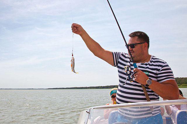 Летняя рыбалка.