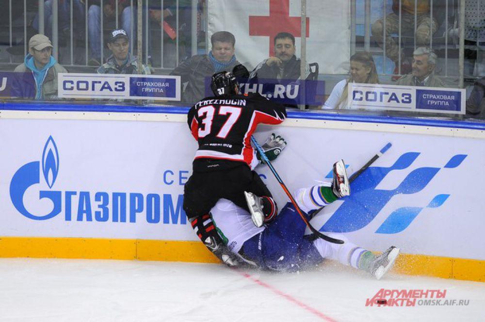 Матч «Авангарда» против «Салавата Юлаева» на «Арене Омск».